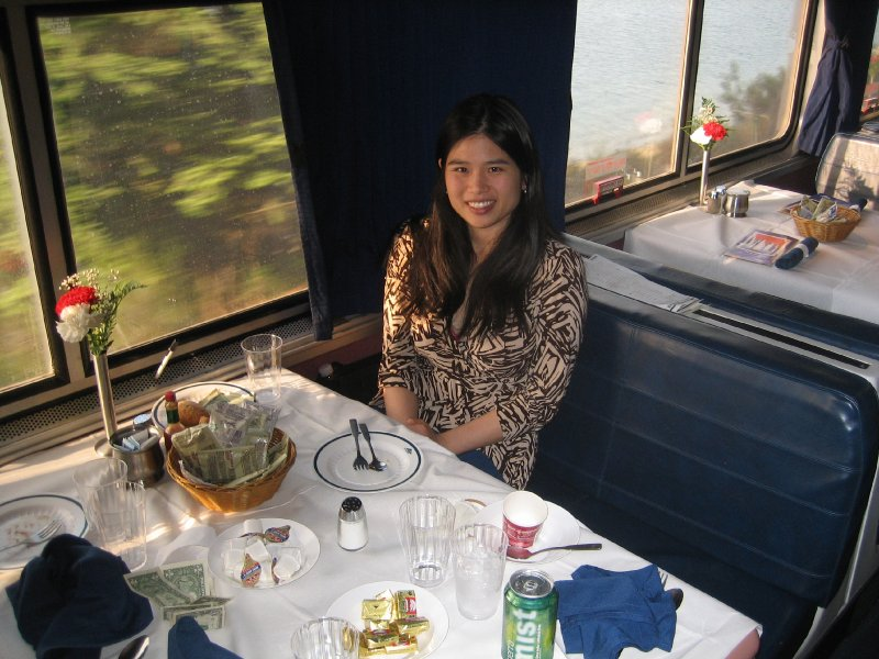 Coast Starlight Dining Car