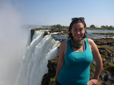 On Top of Victoria Falls