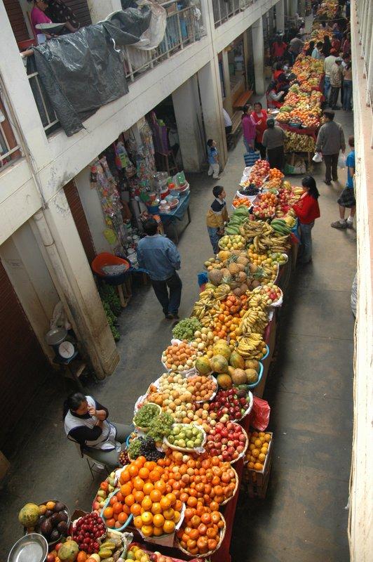 Markt in Chachapoyas