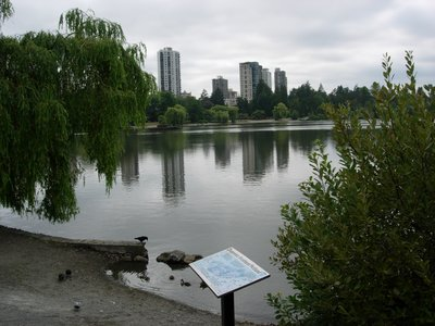 Vancouver seen from Stanley Park