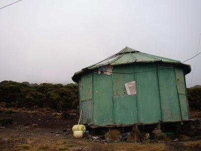 Millennium camp hut