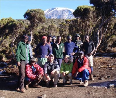 Our Kili team