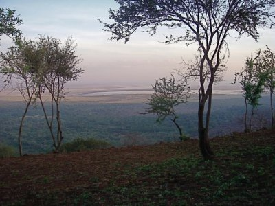 View of Lake Manyara