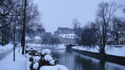 Ljubljanica River, Ljubljana, Slovenia