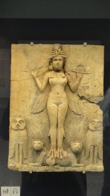 Mesopotamian Godess, British Museum, London, UK
