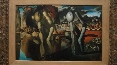 Metamorphosis of Narcissus by Salvador Dali, Tate Modern, London, UK