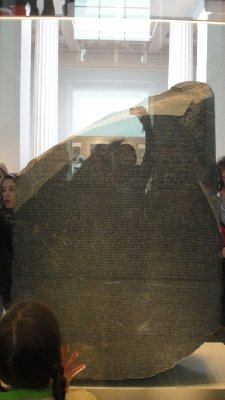 The Rosetta Stone, British Museum, London, UK