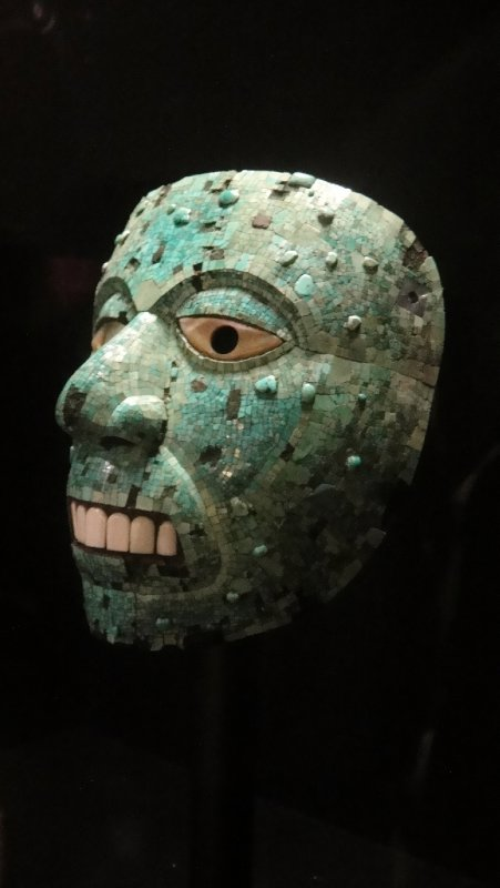 Mayan Turquoise Mask, British Museum, London, UK