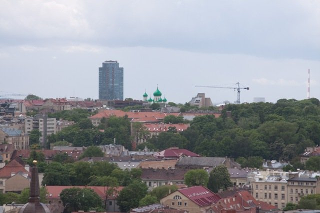 View from Gediminas tower, Vilnius