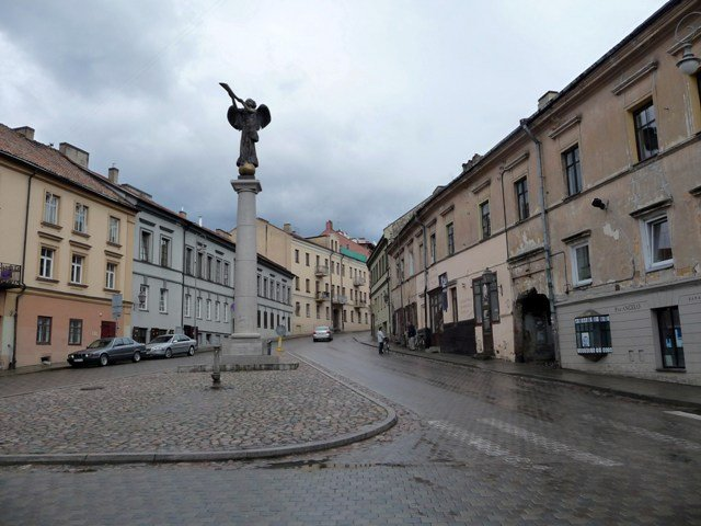 The bohemian district of Uzupis, Vilnius