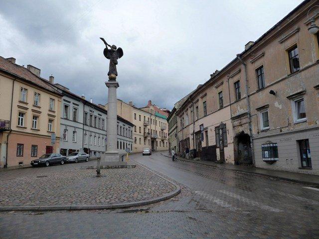 The bohemian district of Uzupis, Vilnius