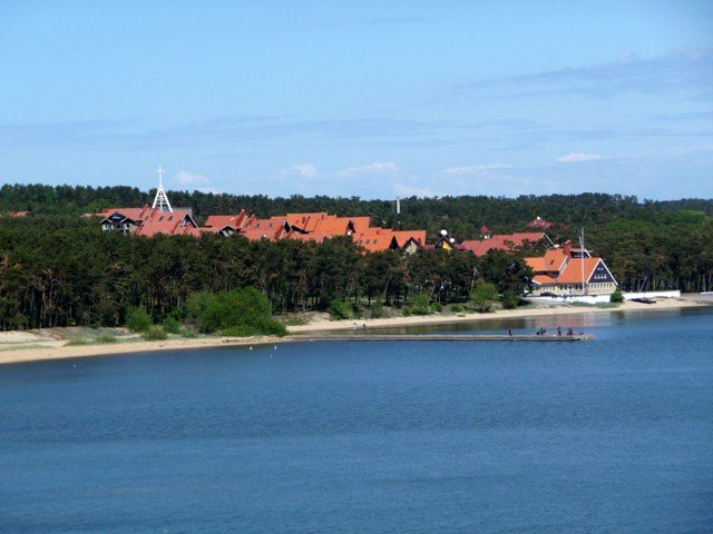Nida seen from the sand dunes