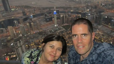 At the Burj Khalifa