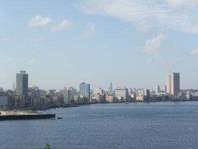 Havana seafront