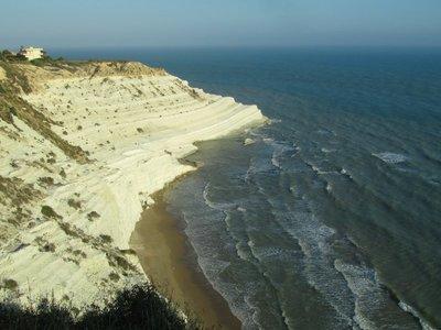 Sicily coastline near Agrigento