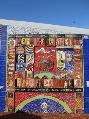 Mural in the Langa Township