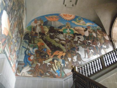 Murals in the palace