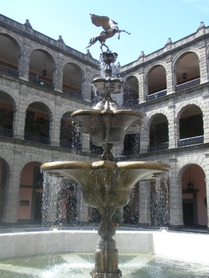 Governement building, Zocalo