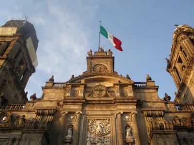 Main Cathedral, Zocalo, Mexico City