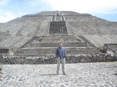 Ancient ruins outside of Mexico City