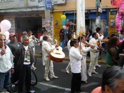 Parade in Mexico City