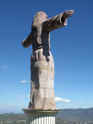 Christo statue in Taxco