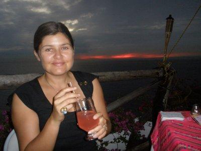 Sunset at Los Flamingos