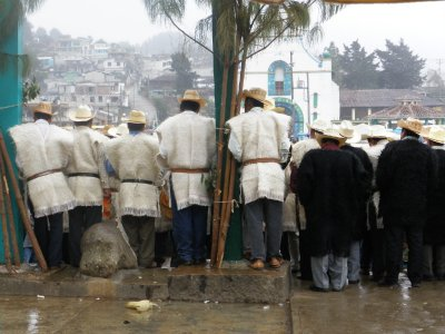Meeting of men in Chamulla