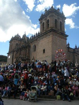 The Corpus Christi Parade, Cusco