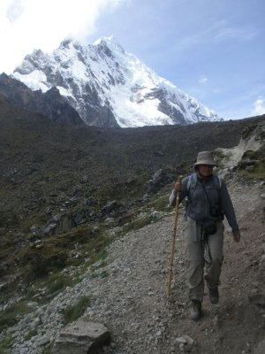 Salkantay Mountain. Day 2. Walking to Machu Picchu.