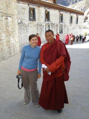 Monk and Marsha, Tibet