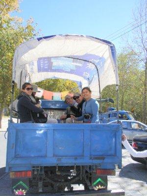 Tibetan taxi