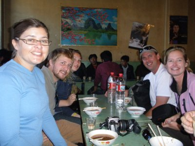 Lunch in Lhasa