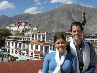 Us in Lhasa