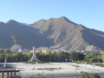 Chinese 'Liberation' monument to Tibet