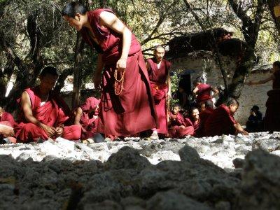 Monks at Sera Monastery (4)