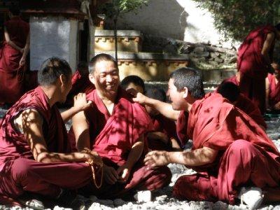 Monks at Sera Monastery (2)