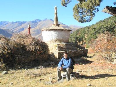 Stupas, Patrick, Reting monastery