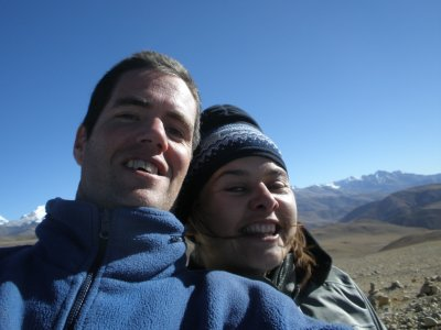 Us in Tibet, taken by us