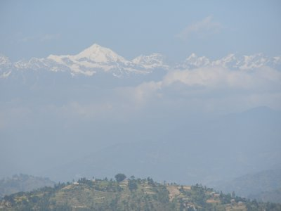 The Himalayas from the Friendship Highway