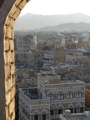 Old Sanaa from the roof