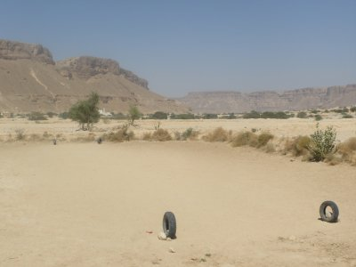 Yemeni footy pitch