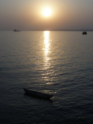 Sunset in Mukalla