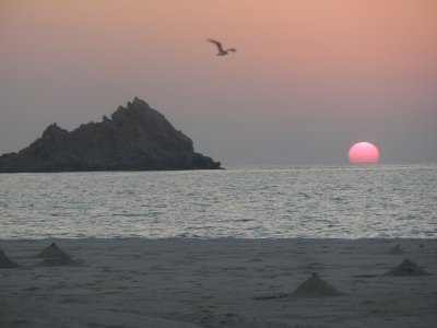 Sunset in Socotra