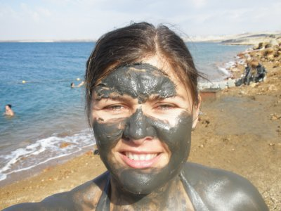 Marsha and Dead Sea mud