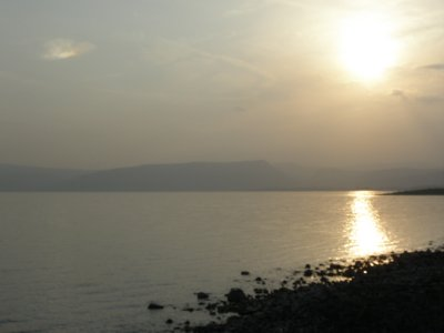 Sunset at Galilee