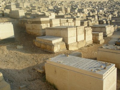 Jewish Cemetary on Mount of Olives