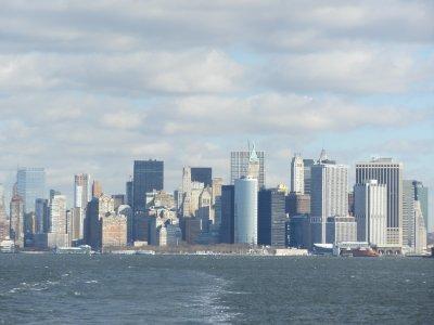 Manhatten skyline