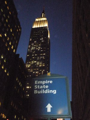 Empire State Building - obviously...