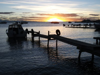 Sunset on Lake Titicaca, Copacabana